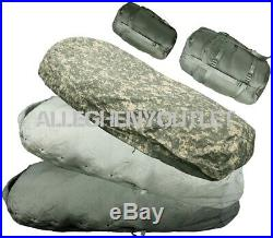 US Military ACU 5 Piece IMPROVED MODULAR SLEEPING BAG SLEEP SYSTEM IMS EXC