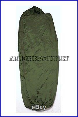 US Military Camo GREEN PATROL SLEEPING BAG For Modular Sleep System EXCELLENT