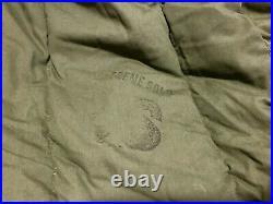 US Military ECW Cold Weather Sleeping Bag Mummy -20 Below VG