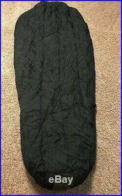 US Military Issue 4 Piece Modular Sleeping Bag System with Gortex Bivy