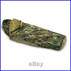 U. S Military Surplus GORE-TEX Bivy Cover Woodland Camo Outdoor Cold Rain Weather