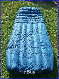 Ultralight 30 degree backpacking quilt/ sleeping bag UGQ Bandit XL custom