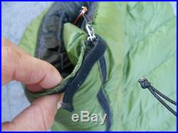 Ultralight Zpacks 900fp Goose Down Sleeping bag 10 Degrees Hiking Camping Backpa
