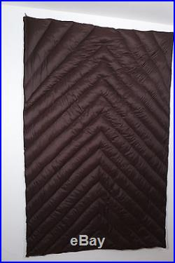 Ultralight down blanket for backpacking 12.3 ounces