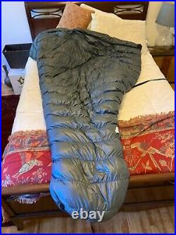 Used Katabatic Flex 30° Wide and Long Ultralight Down Backpacking Quilt