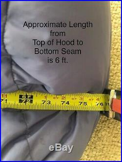 VINTAGE Marmot Down Mummy Sleeping Bag & Granite Gear Compression Stuff Sack USA