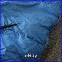 VTG Alpine Designs Down -20 Mummy Sleeping Bag Made USA Blue Regular Colorado