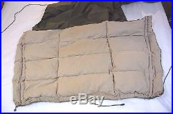 Vintage Eddie Bauer 4.5 lb Down Sleeping Bag Robe Free Ship