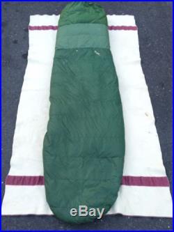 Vintage Frostline Goose Down Sleeping Bag 83.5 By 28