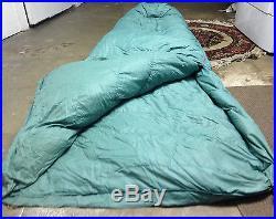 Vintage GERRY Denver CO. Grey Goose Down Sleeping Bag