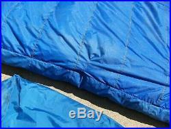 Vintage Marmot Gopher Goose Down Sleeping Bag -10°F