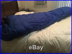 Vintage Marmot Mountain works Ptarmigan Gore-Tex Goose Down Long Sleeping Bag