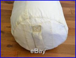 Vintage Norseman Down Filled Sleeping Robe Bag 90x90 Wool Canvas Edmonton Canada