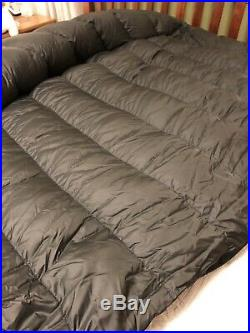 Vintage Overfilled North Face Chrysalis Down Sleeping Bag