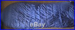 Vintage The North Face Goose Down Mummy Brown Label Sleeping Bag 80x29 with Sack