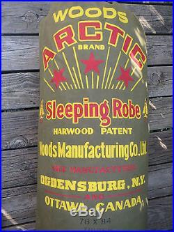 Vintage Woods Arctic Wool Sleeping Bag Robe