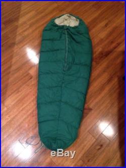 Vtg Eddie Bauer Kora Korami Goose Down sleeping bag. Long. Read