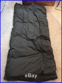 Vtg Woods Arctic 3 Star Down Sleeping Robe Bag Canvas & Wool Minty! 17+ Lbs