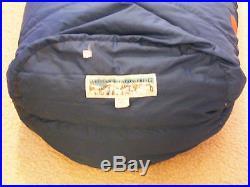 WESTERN MOUNTAINEERING DOWN SLEEPING BAG 10F LONG RH ZIPPER
