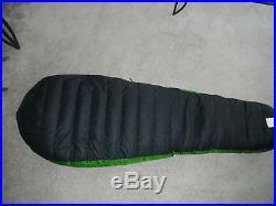 WESTERN MOUNTAINEERING VERSALITE 10F DOWN SLEEPING BAG 6'6