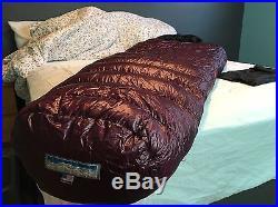 Western Mountaineering 30 degree Megalite Down Sleeping Bag 6' Left Zip