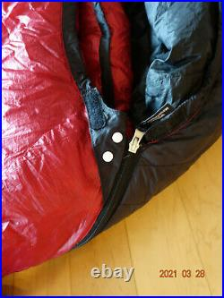 Western Mountaineering AlpinLite Sleeping Bag 66 Left Zipper, Just Washed