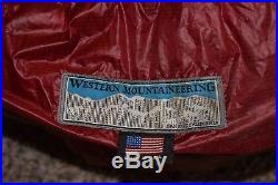 Western Mountaineering Alpinlite Sleeping Bag 20 Deg Down 6ft / Right Zip