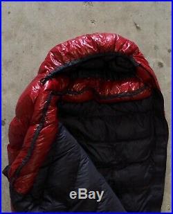 Western Mountaineering Alpinlite Sleeping Bag 20° Goose Down 6ft Left Zip NEW
