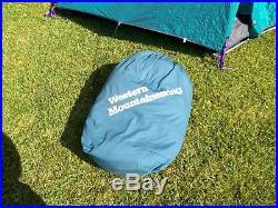 Western Mountaineering Antelope Gore DriLoft goose down sleeping bag 6'6 right