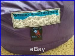 Western Mountaineering Apache 15 Sleeping Bag 6'0 Right Zip
