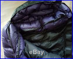 Western Mountaineering Apache 850 Down 15f Sleeping Bag Long Left Euc
