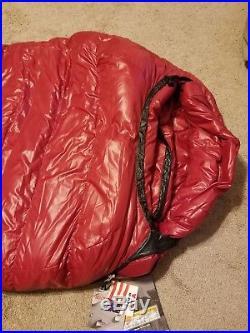 Western Mountaineering Apache MF down sleeping bag