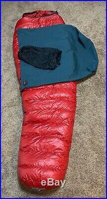 Western Mountaineering Apache Micro Fiber Down Sleeping Bag 15 Degree 6 6