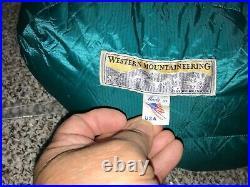 Western Mountaineering Badger SDL, Long, Left Zipper