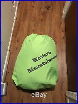 Western Mountaineering Caribou MF 32 Degree Down Sleeping Bag Long 6'6