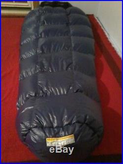 Western Mountaineering Caribou MF 35° Down sleeping bag Reg
