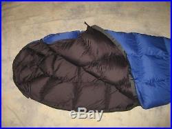 Western Mountaineering Caribou MF 35 down sleeping bag