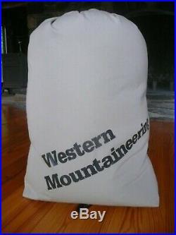 Western Mountaineering Dakota (Lynx) Gore-Tex Sleeping Bag Excellent Condition