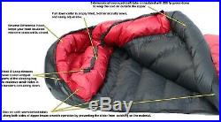 Western Mountaineering Down Sleeping Bag 6Ft