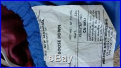Western Mountaineering Down Sleeping bag 0°F 6'-0, Left Zip