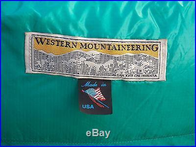 Western Mountaineering Goose Down ExtremeLight Series 6'6 VersaLite Left Zip