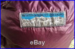 Western Mountaineering High Light 35 degree ultralight 6' down sleeping bag