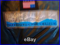 Western Mountaineering Kodiak MF Sleeping Bag 0 Degree Down 6'6 R-Zip /25895/