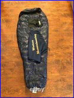 Western Mountaineering MegaLite 6' RZ Ultralight down backpacking sleeping bag