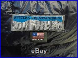 Western Mountaineering MegaLite Sleeping Bag 30 Degree Down /26357/