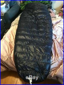 Western Mountaineering MegaLite Sleeping Bag 30 Degree Down 6'0/LZ /45033/