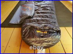 Western Mountaineering MegaLite down sleeping bag, NWT, 30°F, long length 6ft6in