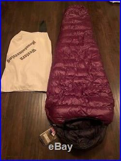 Western Mountaineering Megalite Sleeping Bag 30 Degree Down 6ft/LZ NWT