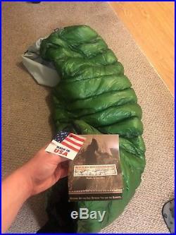 Western Mountaineering MityLite Sleeping Bag semi rectangular 40 degree