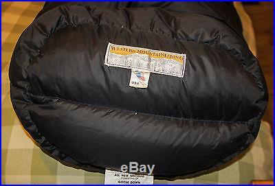 Western Mountaineering NarrowLite 6ft LH Down Sleeping Bag
